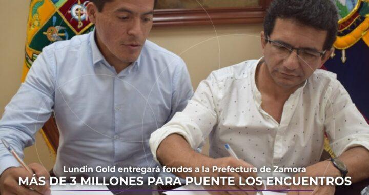 USD 3 millones para el puente Los Encuentros.