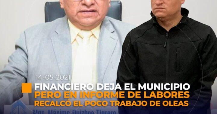 Director financiero deja el Municipio de Loja