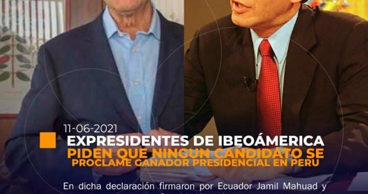 firmaron la carta Osvaldo Hurtado y Jamil Mahuad.
