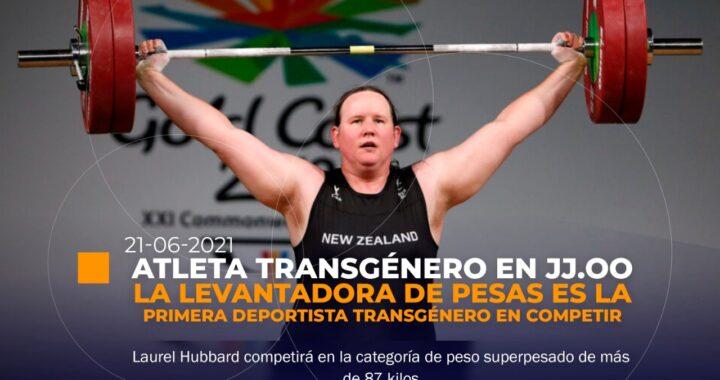 Atleta transgénero competirá en JJ.OO
