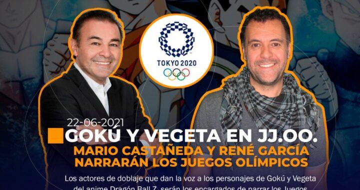 Gokú y Vegeta en los Juegos Olímpicos de Tokio 2020