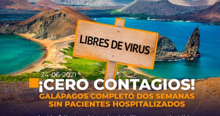Galápagos sin contagios de COVID19