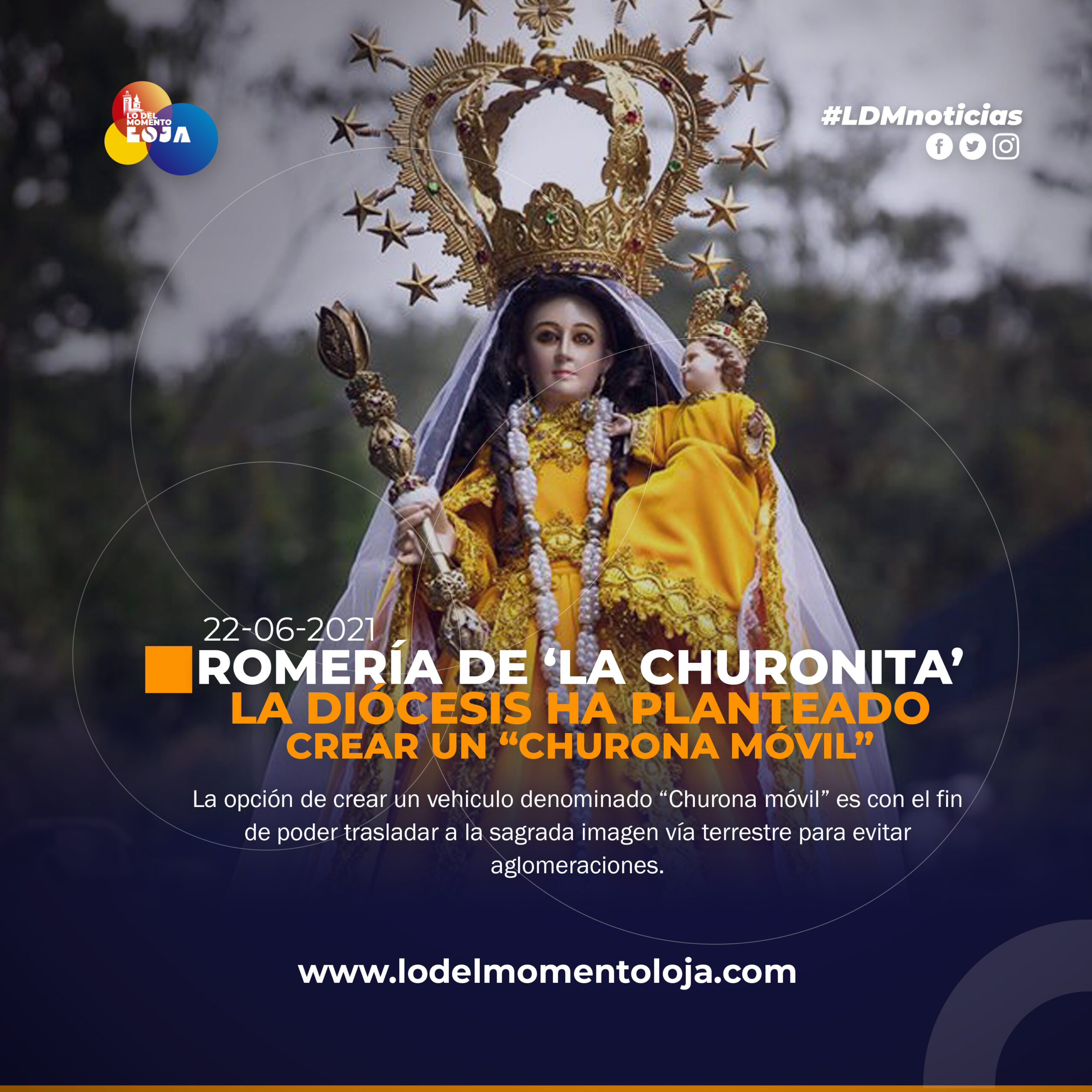 Romería de la Virgen de El Cisne.