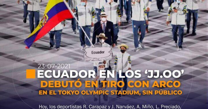 Ecuador en los Juegos Olímpicos