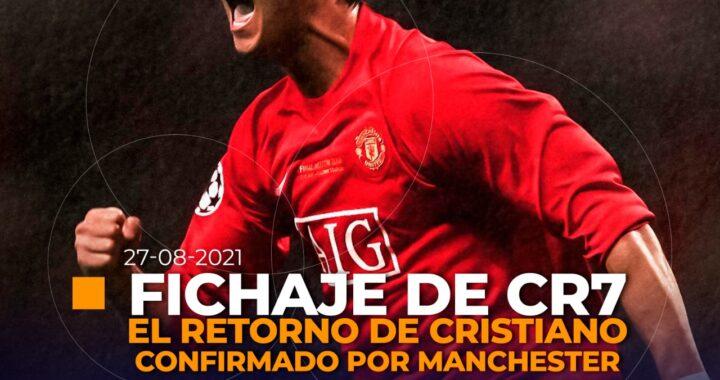 CR7 vuelve al Manchester United.