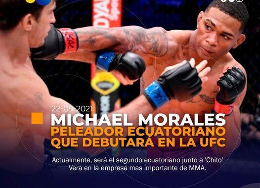 Ecuatoriano ganó un contrato para debutar en la UFC