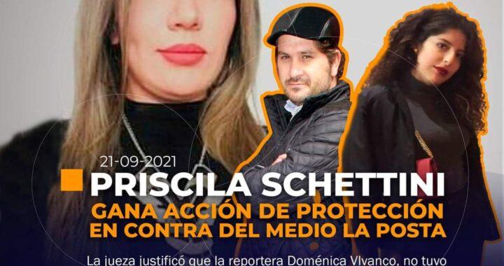 Schettini gana acción de protección contra La Posta.