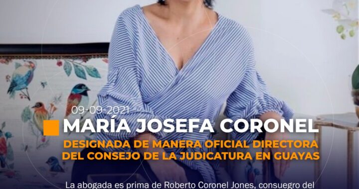 Nueva directora del Consejo de la Judicatura en Guayas
