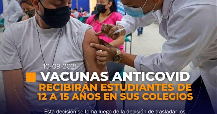 Vacunas para adolescentes en Ecuador