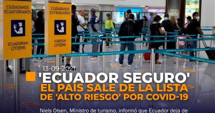 Ecuador lugar seguro para alemanes.