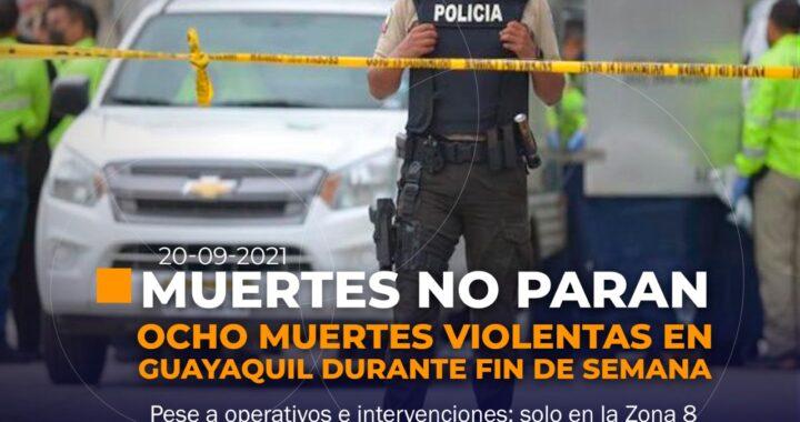 Muerte violentas en Ecuador