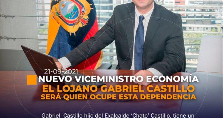 Lojano es el nuevo viceministro de Economía