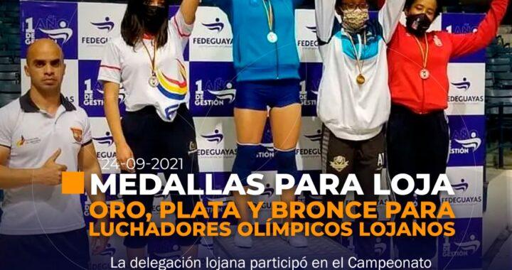 Medallas para Loja en Campeonato Nacional