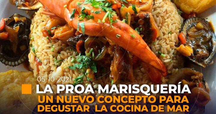 Inauguración de restaurante en Loja.