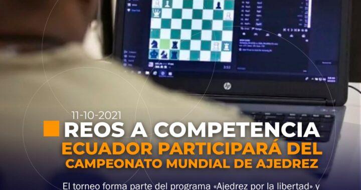 Reos de Ecuador participarán en Campeonato Mundial de Ajedrez