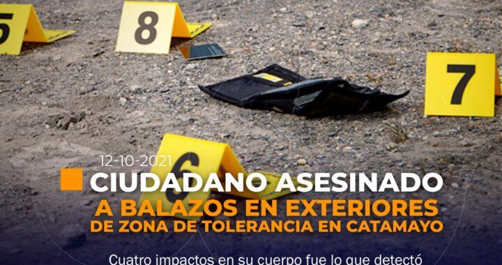Presunto sicariato en Catamayo