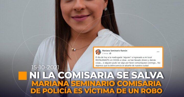Comisaria de Policía de Zamora, sufrió un robo.